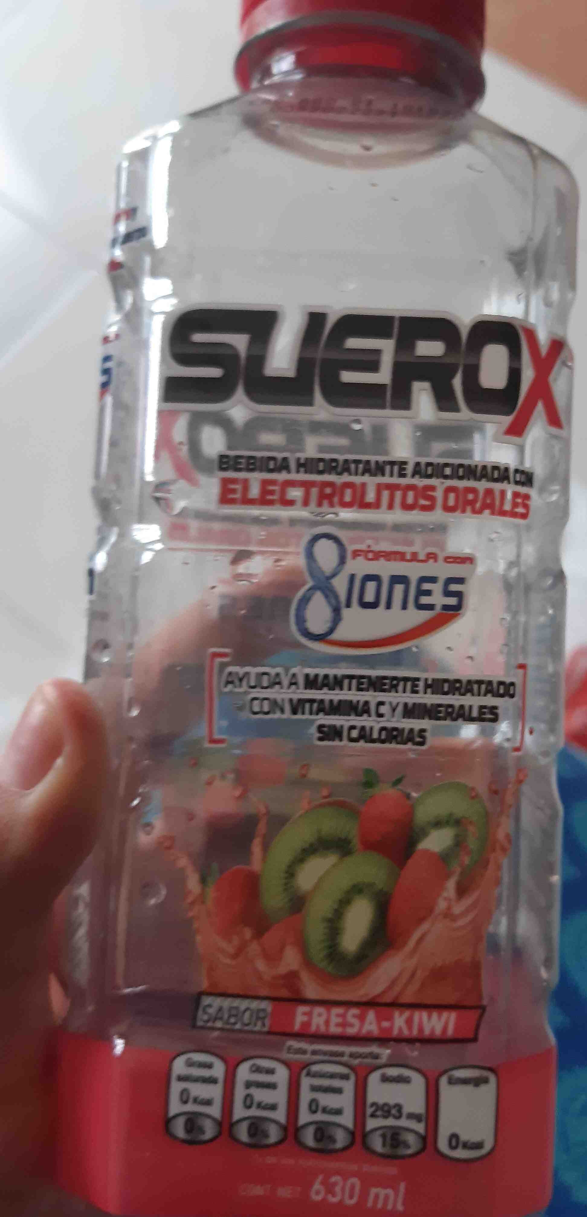 Suerox Rehidratante de Fresa - Product - en