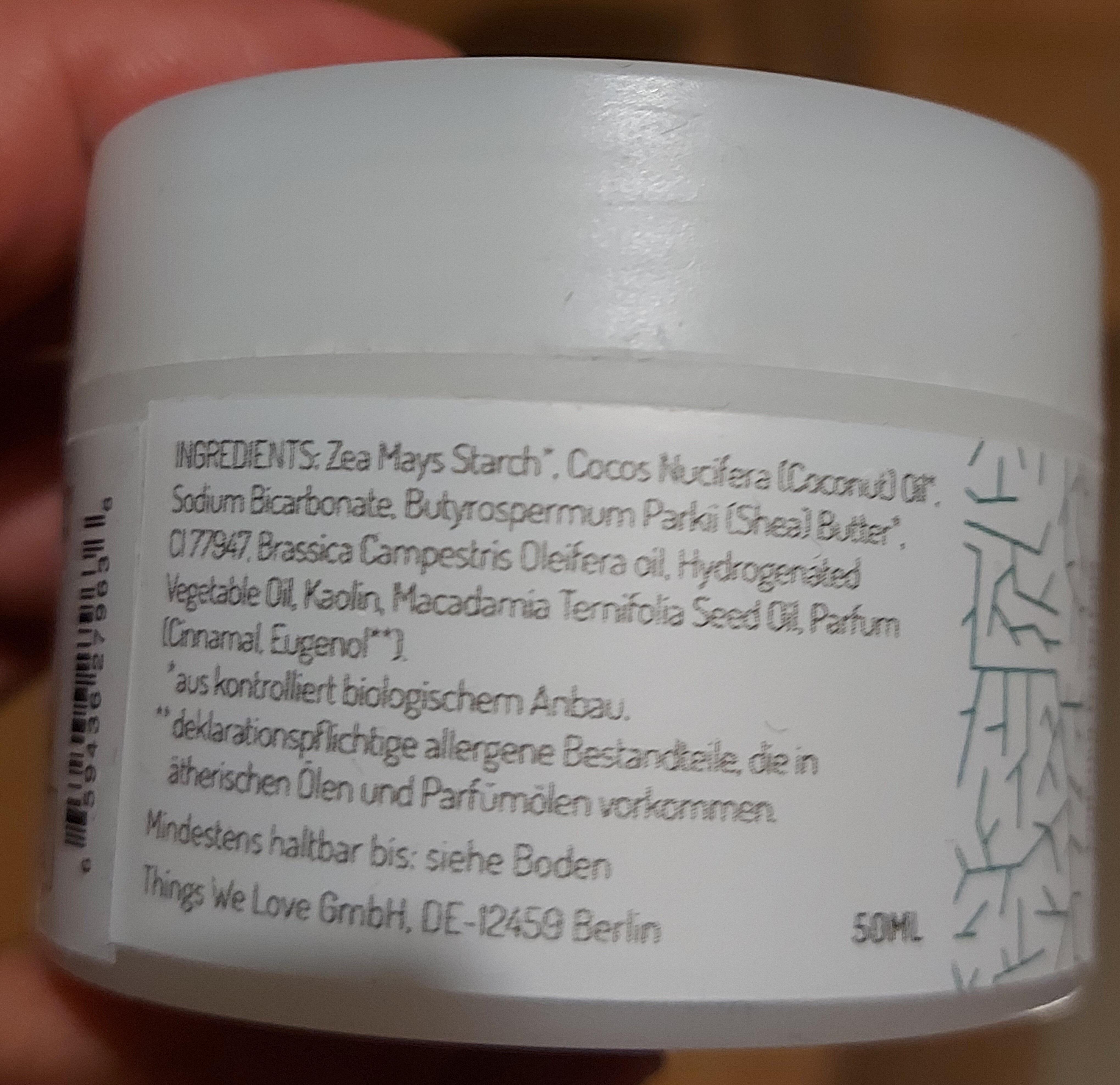 Deocreme - Waldnebel - Ingredients - de