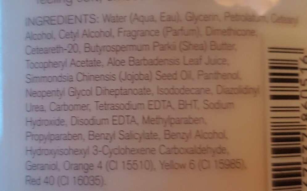 bath and body works pearberry - Ingredients - en