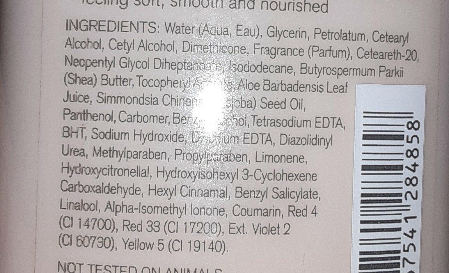 pink cashmere - Ingredients - en