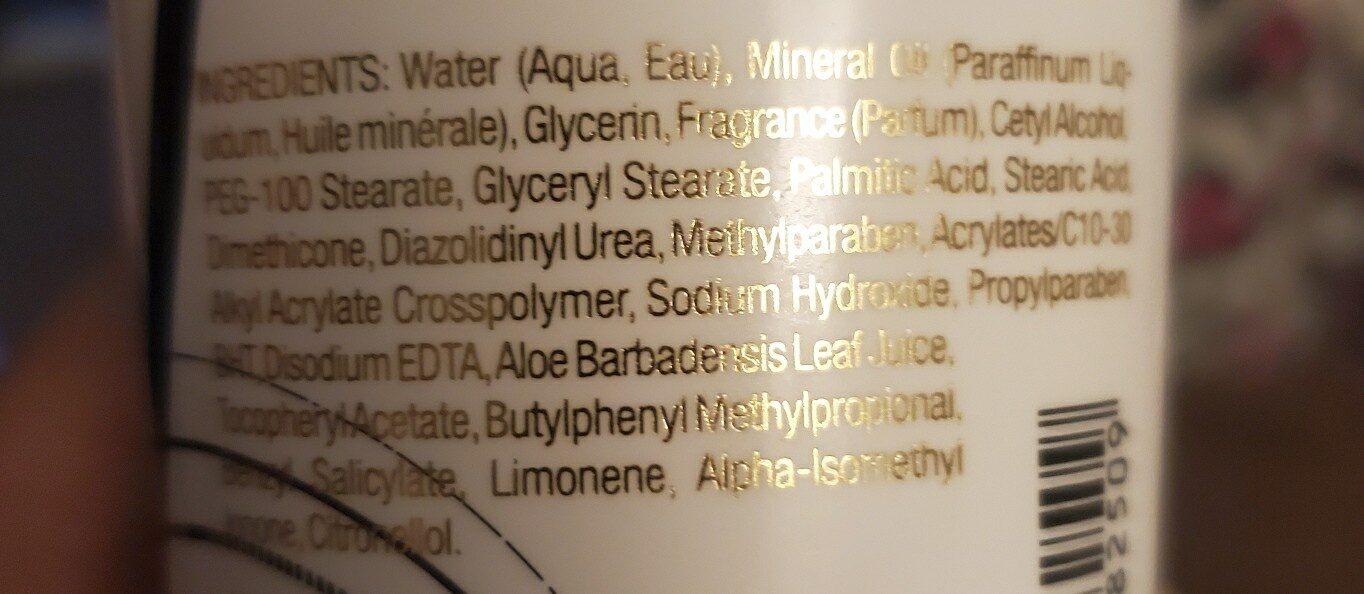 Victoria Secrets - Ingredients - en