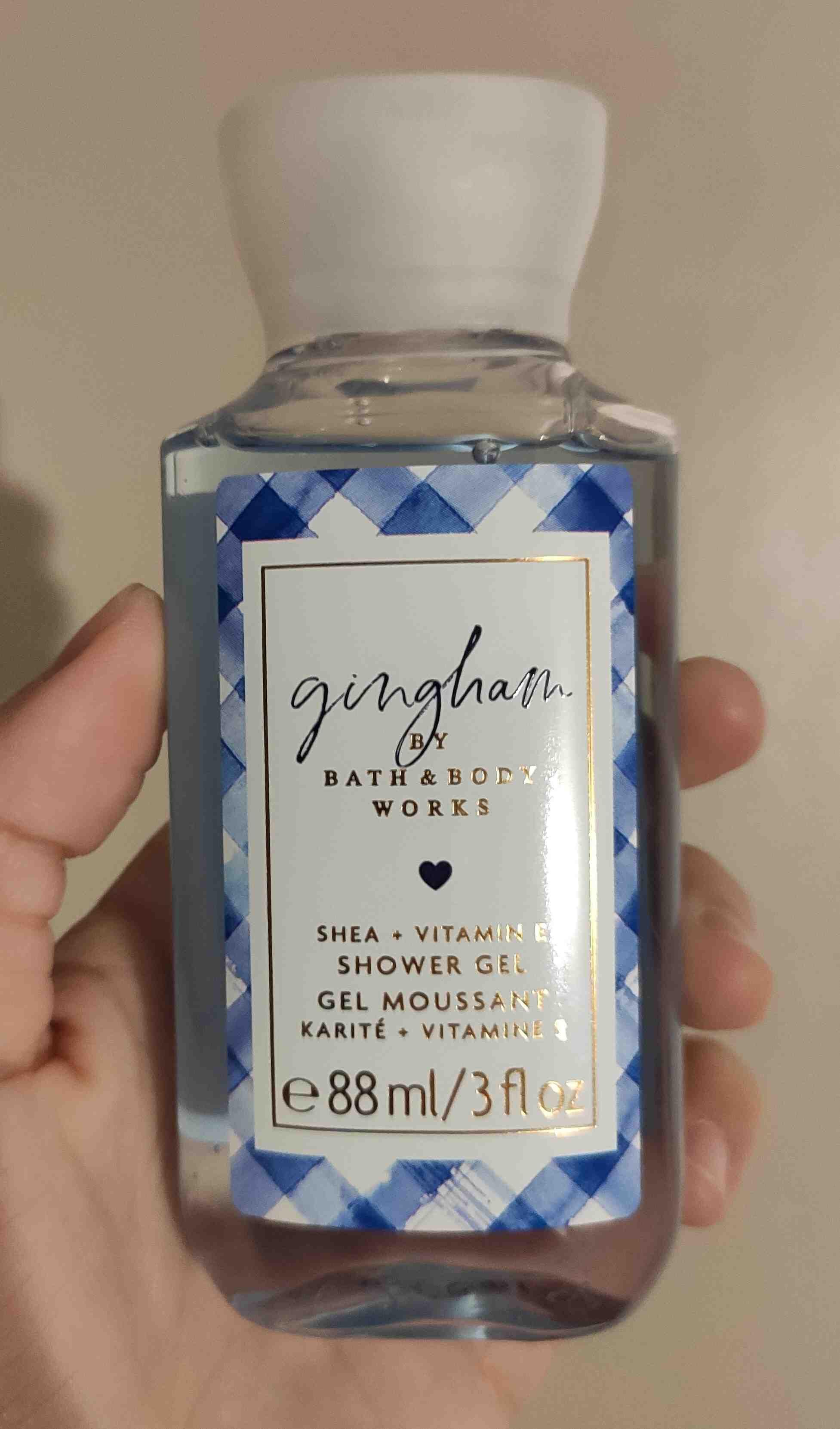gingham shower gel - Product - en
