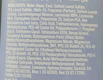 gingham shower gel - Ingredients - en