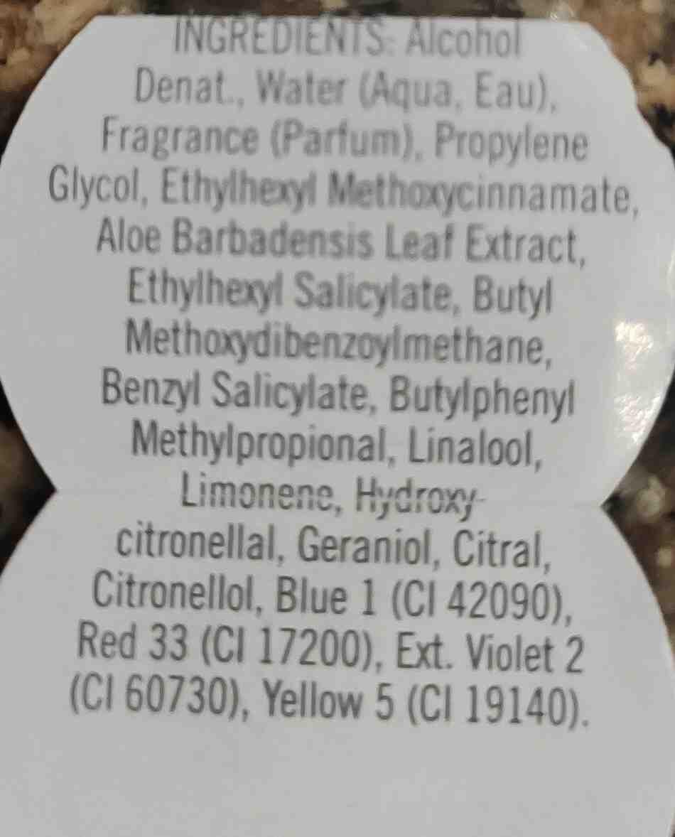gingham fragrance mist - Ingredients - en
