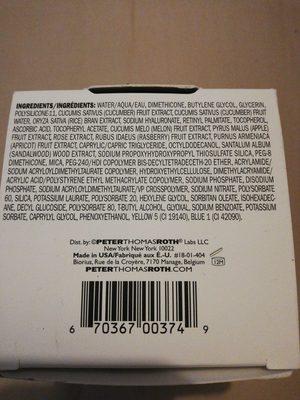 Cucumber de-tox - Product