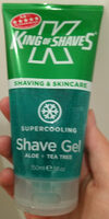 Supercooling Shave Gel - Product