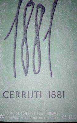 1881 Homme - Ingredients
