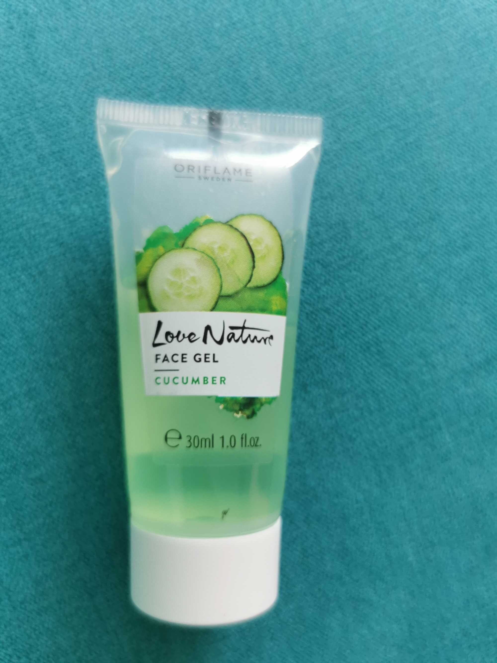 Love nature face gel cucumber - Product - ro
