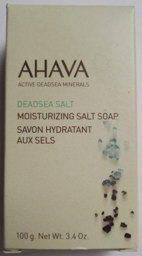Ahava savon hydratant aux sels - Produit