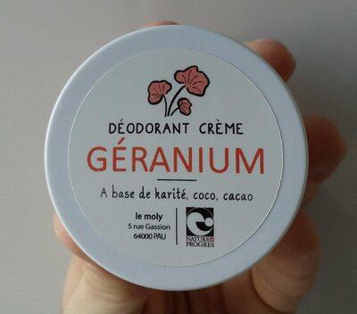 Déodorant crème géranium - Product - fr