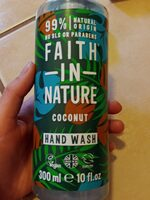 faith in nature coconut hand wash - Product - en