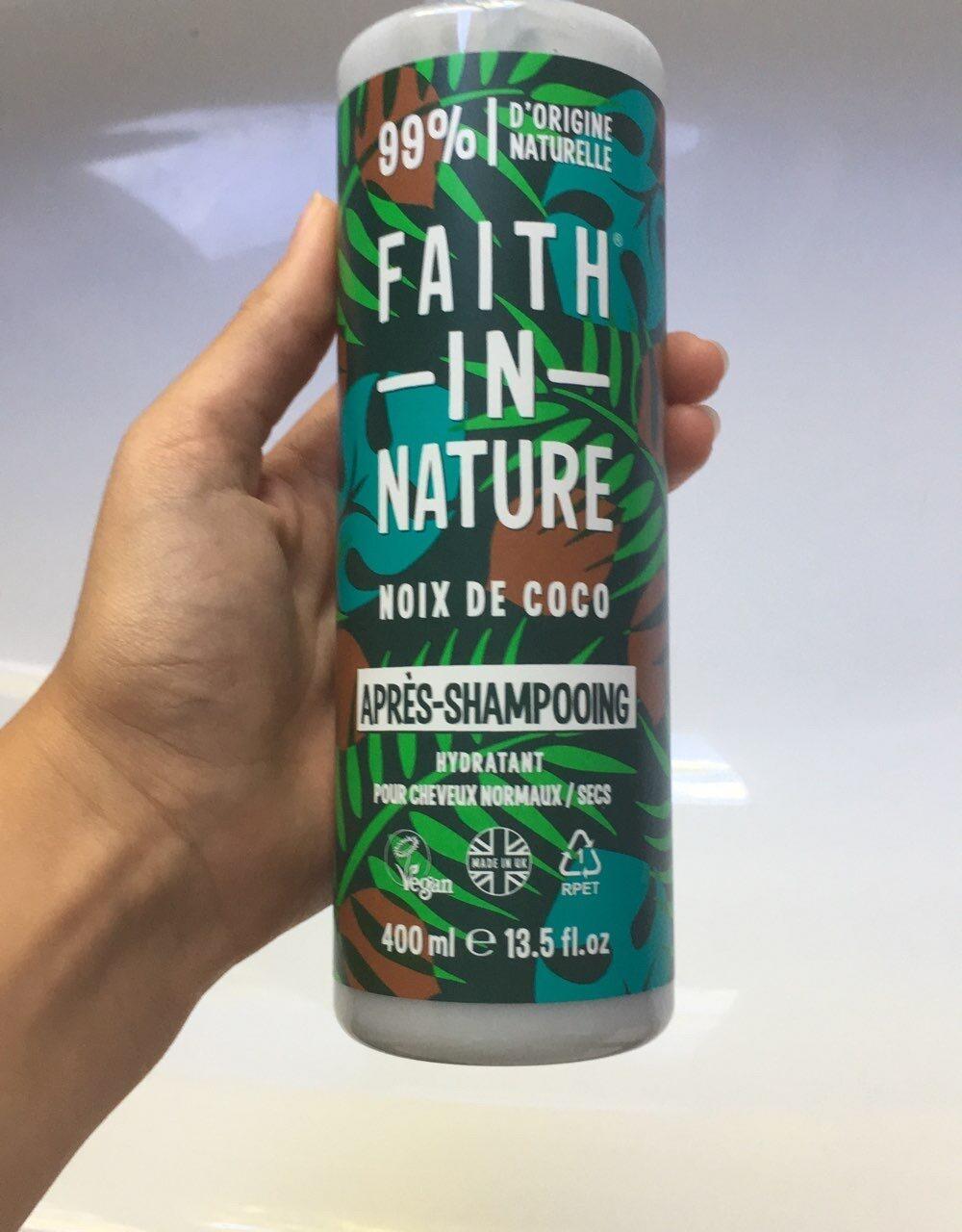 Après shampooing noix de coco - Product - en