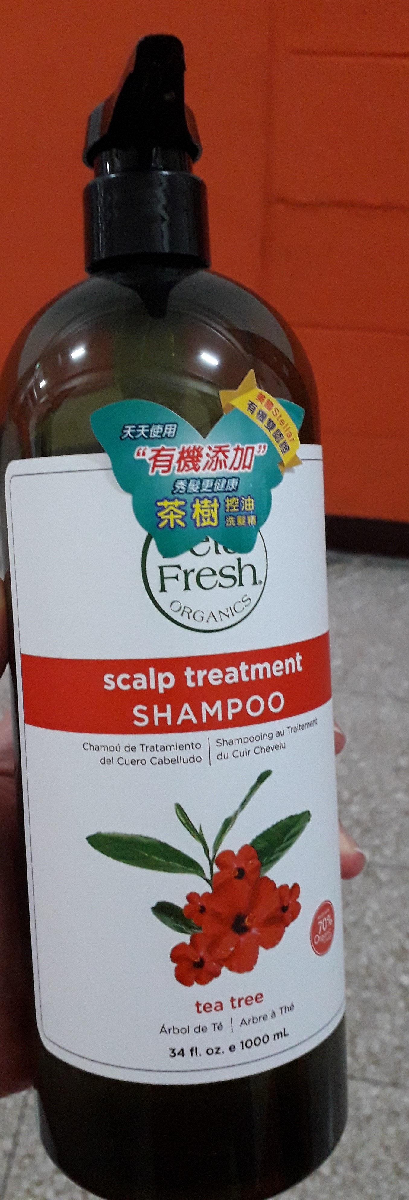 scalp treatment shampoo tea tree - Product