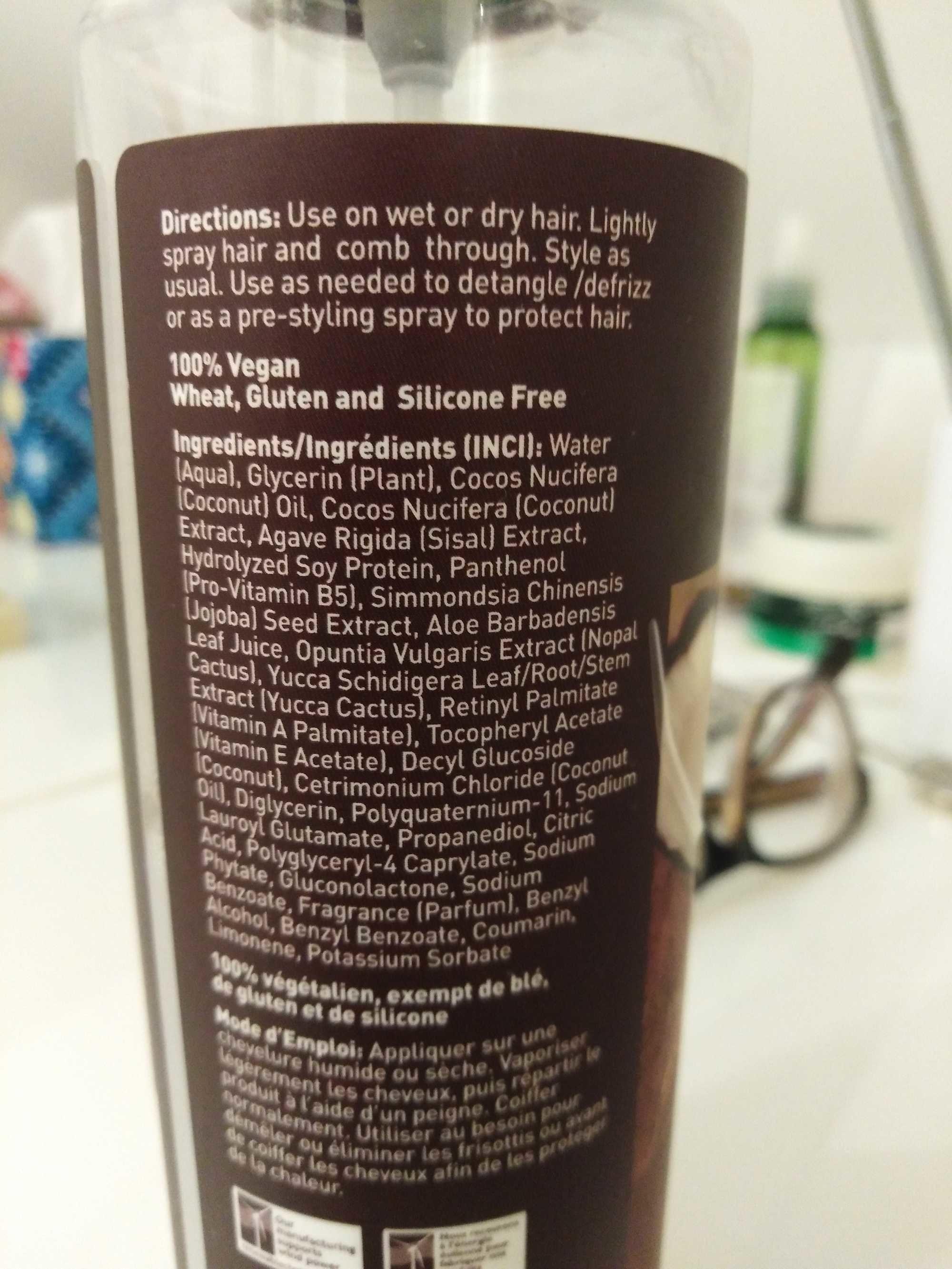 Soin anti-frisottis et thermoprotecteur à la noix de coco - Product