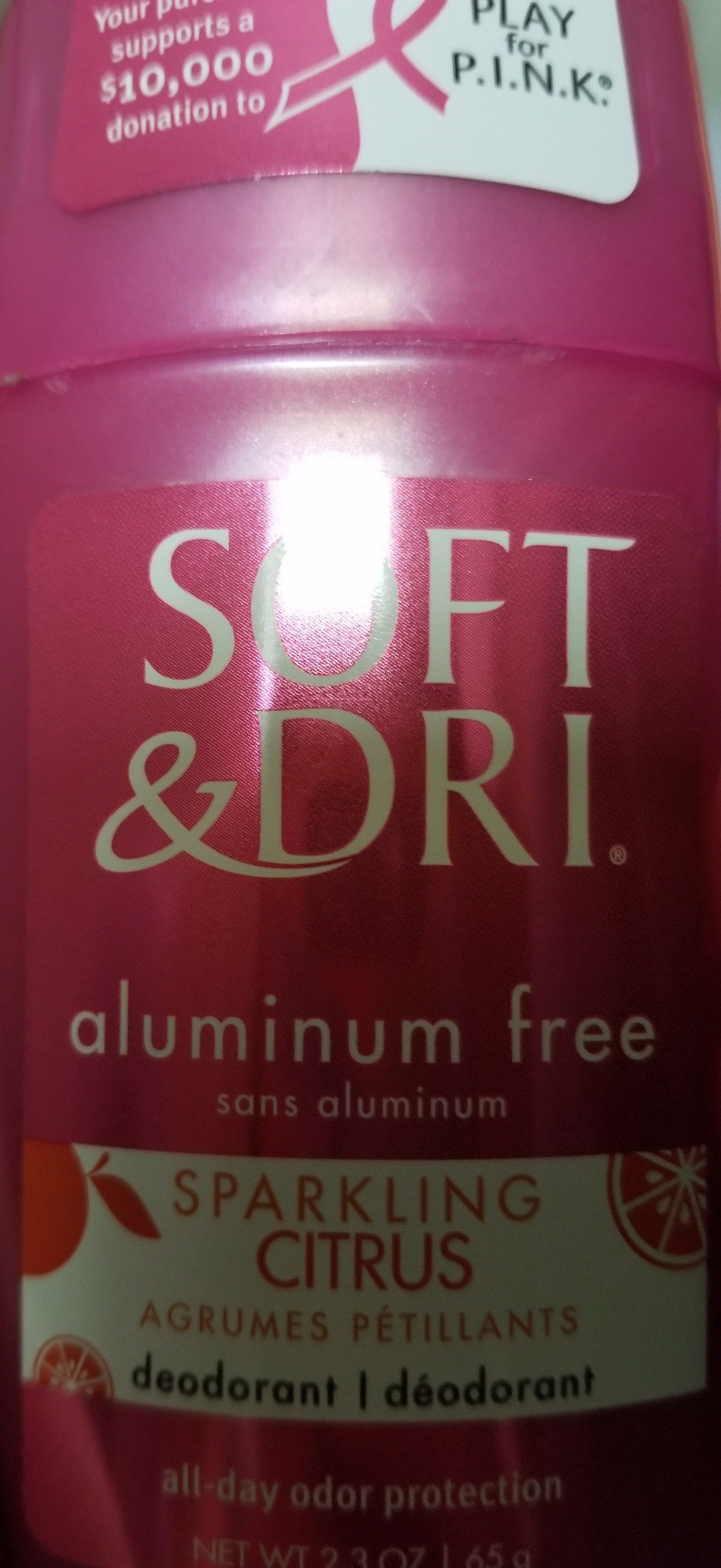 soft & dri deodorant - Product - en