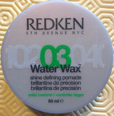 03 Water Wax - Product