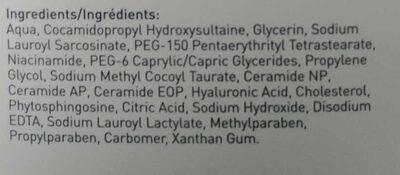 Foaming Facial Cleanser - Ingrédients - en