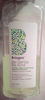 Shampooing revigorant et ultra nourrissant au matcha et à la pomme - Produit