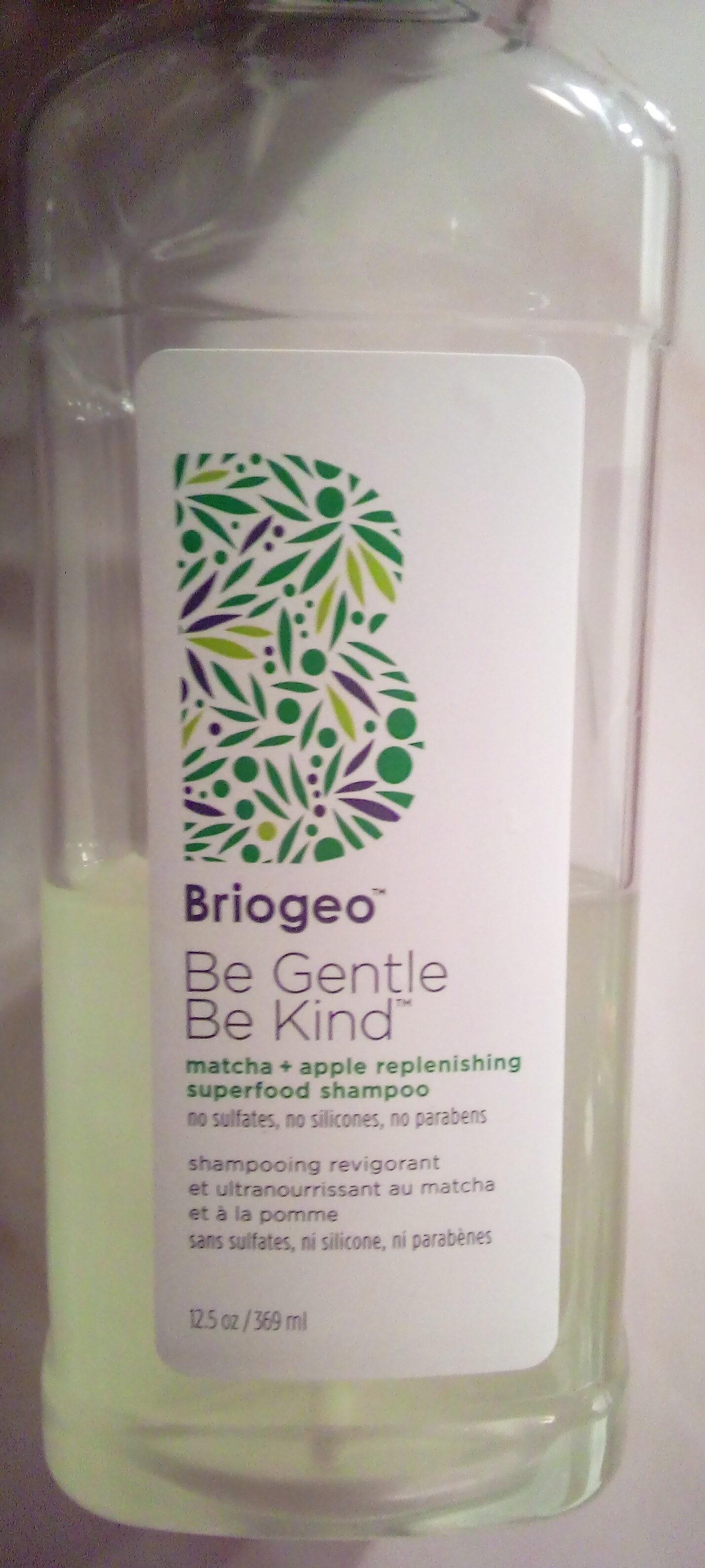Shampooing revigorant et ultra nourrissant au matcha et à la pomme - Product - fr