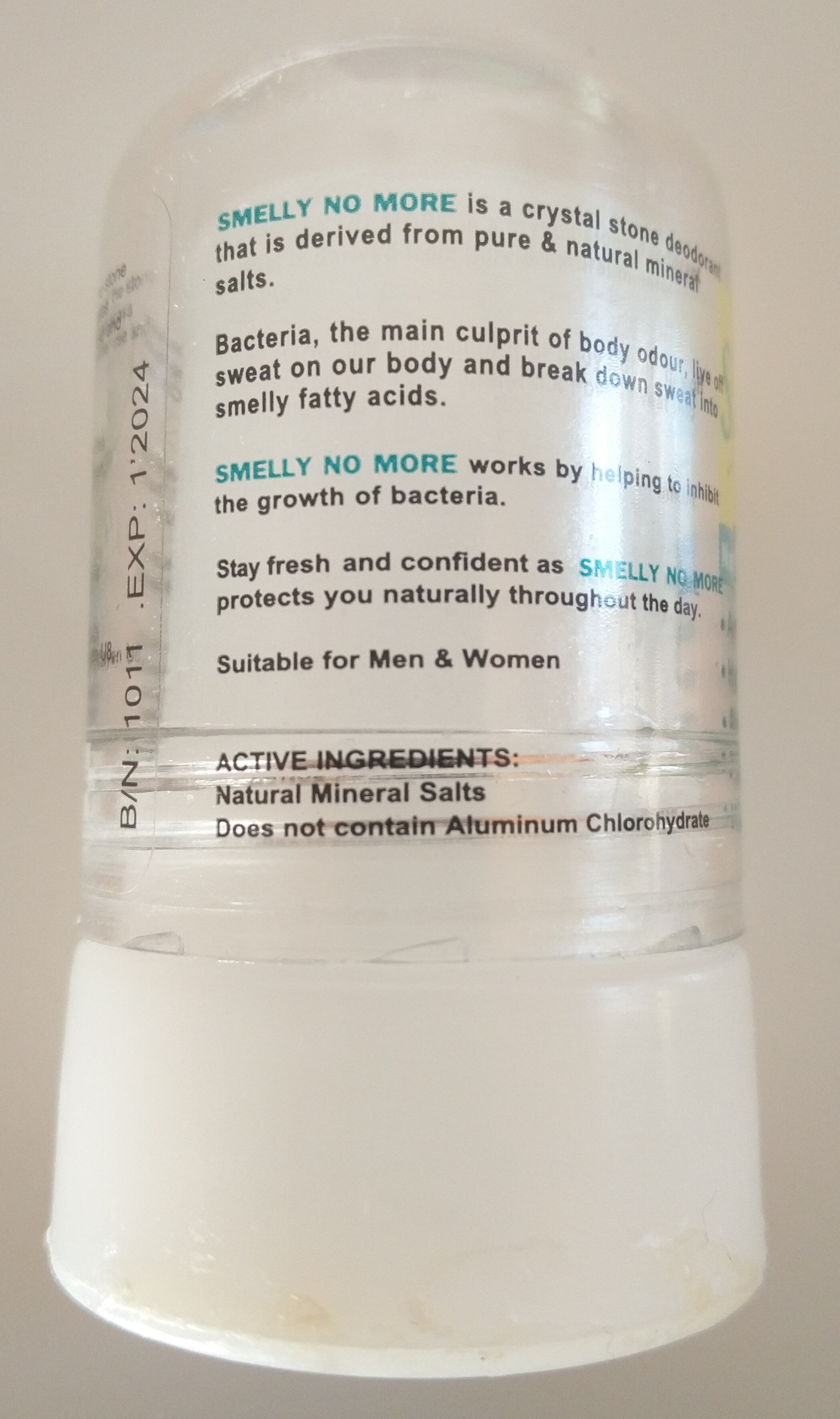 Smelly-No-More - Ingredients - en