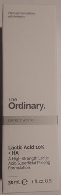 Lactic Acid 10% + HA - Product