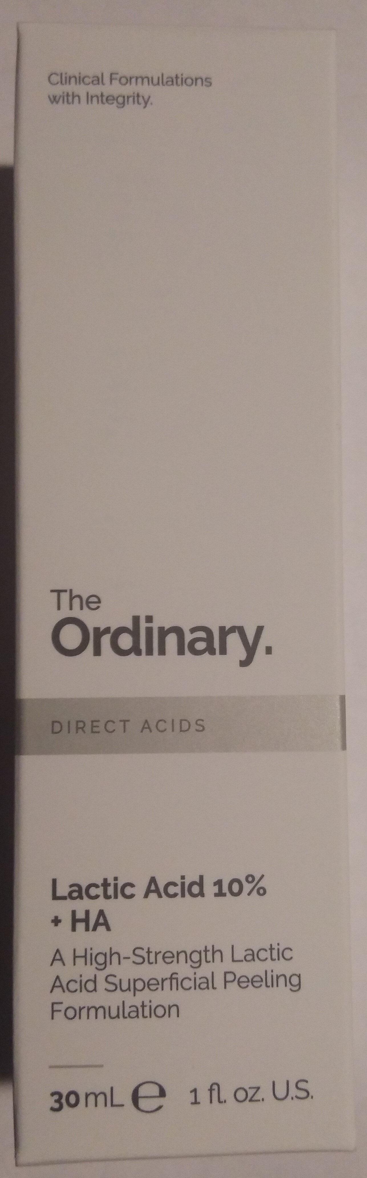 Lactic Acid 10% + HA - Product - en