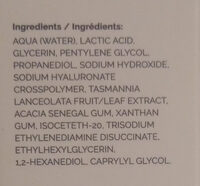 Lactic Acid 10% + HA - Ingredients - en