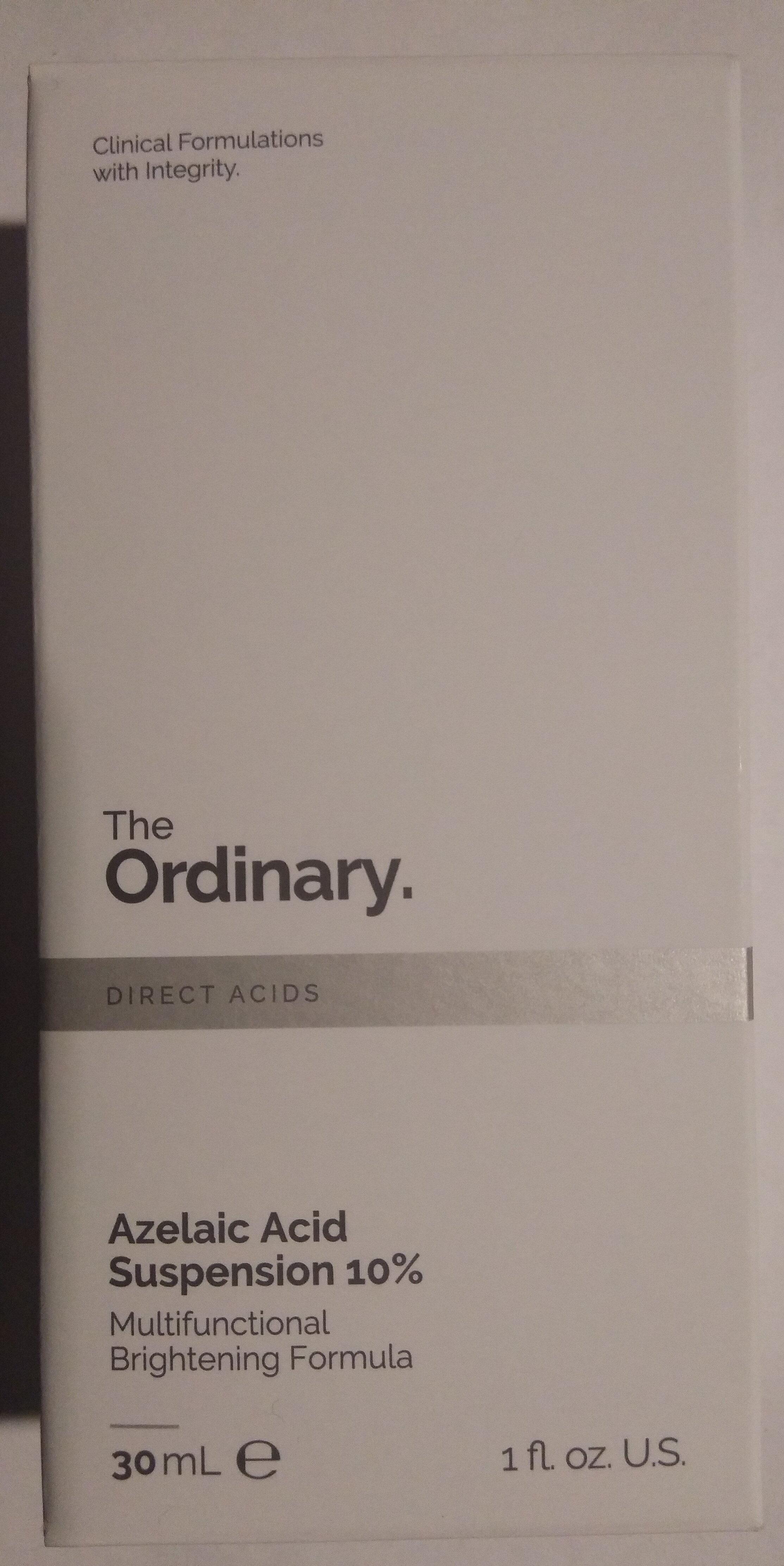 Azelaic Acid Suspension 10% - Product - en