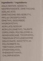 Azelaic Acid Suspension 10% - Ingredients