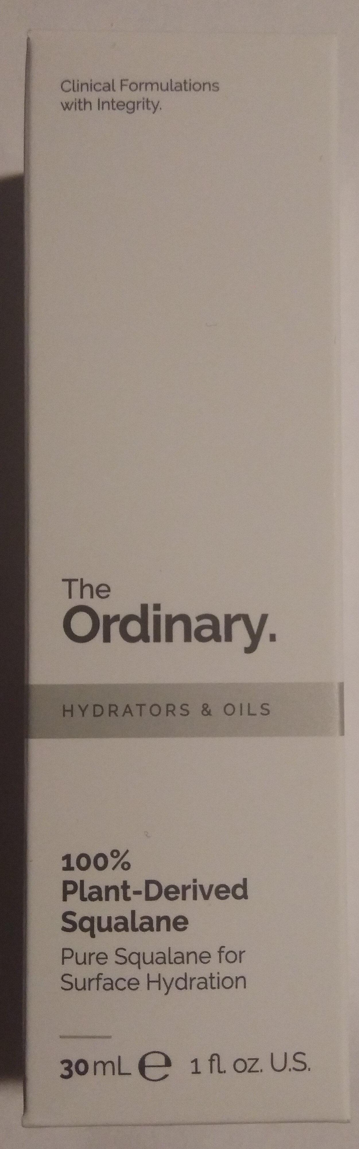 100% Plant-Derived Squalane - Product - en