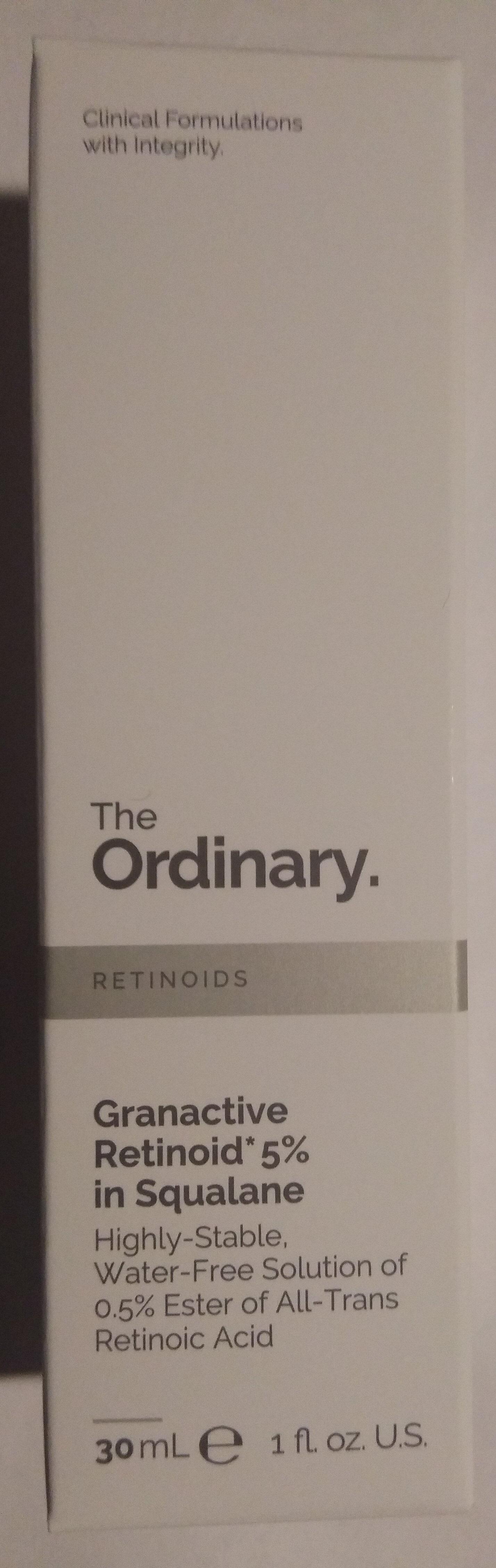 Granactive Retinoid 5% in Squalane - Product - en