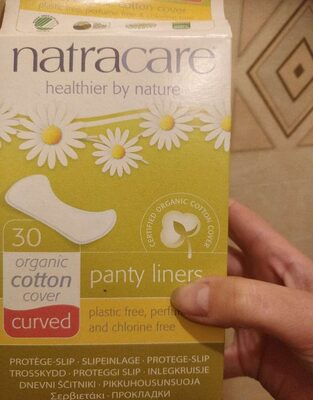 Protège-slips Incurvés - 30 Unités - Natracare - Product - fr