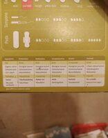 Protège-slips Incurvés - 30 Unités - Natracare - Ingredients - fr