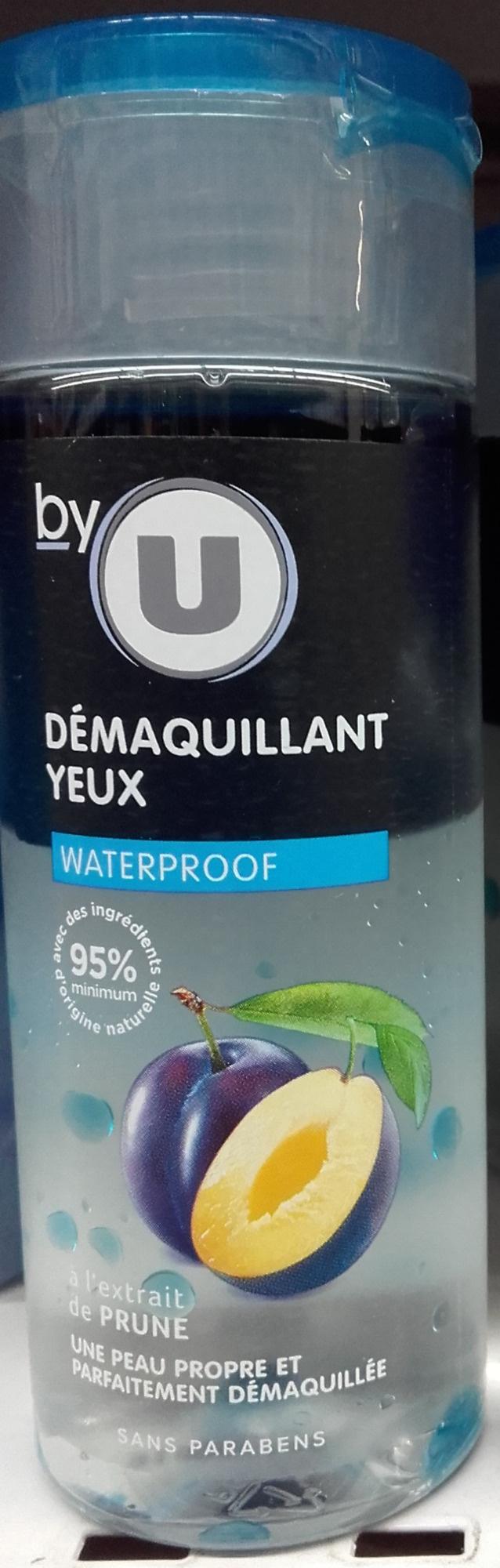 Démaquillant yeux waterproof à l'extrait de prune - Produit