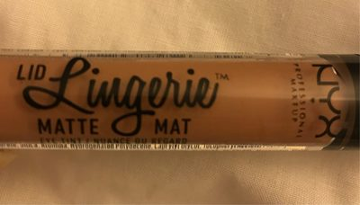 Nyx Lid Lingerie Matte - Revel - Product