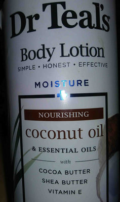 Dr. teals body lotion. coconut oil - Product