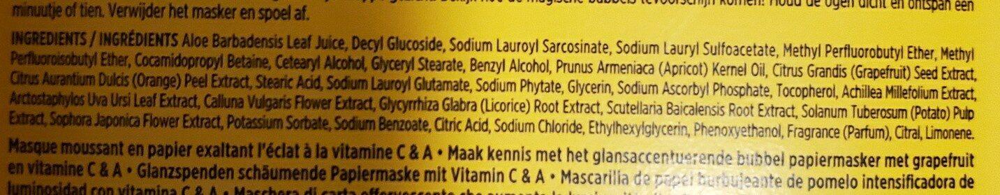 yes to - Ingredients - en