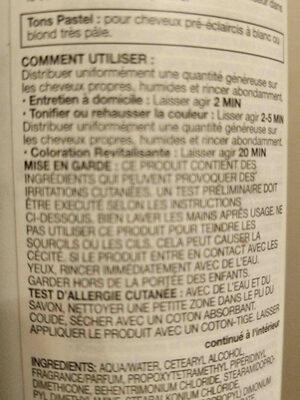 viral colorconditioner - Ingredients - en
