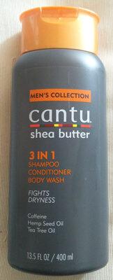 Shea Butter 3 in 1 Shampoo Conditioner Body Wash - Produit - de