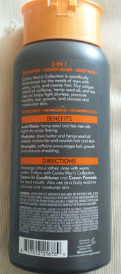 Shea Butter 3 in 1 Shampoo Conditioner Body Wash - Product - en