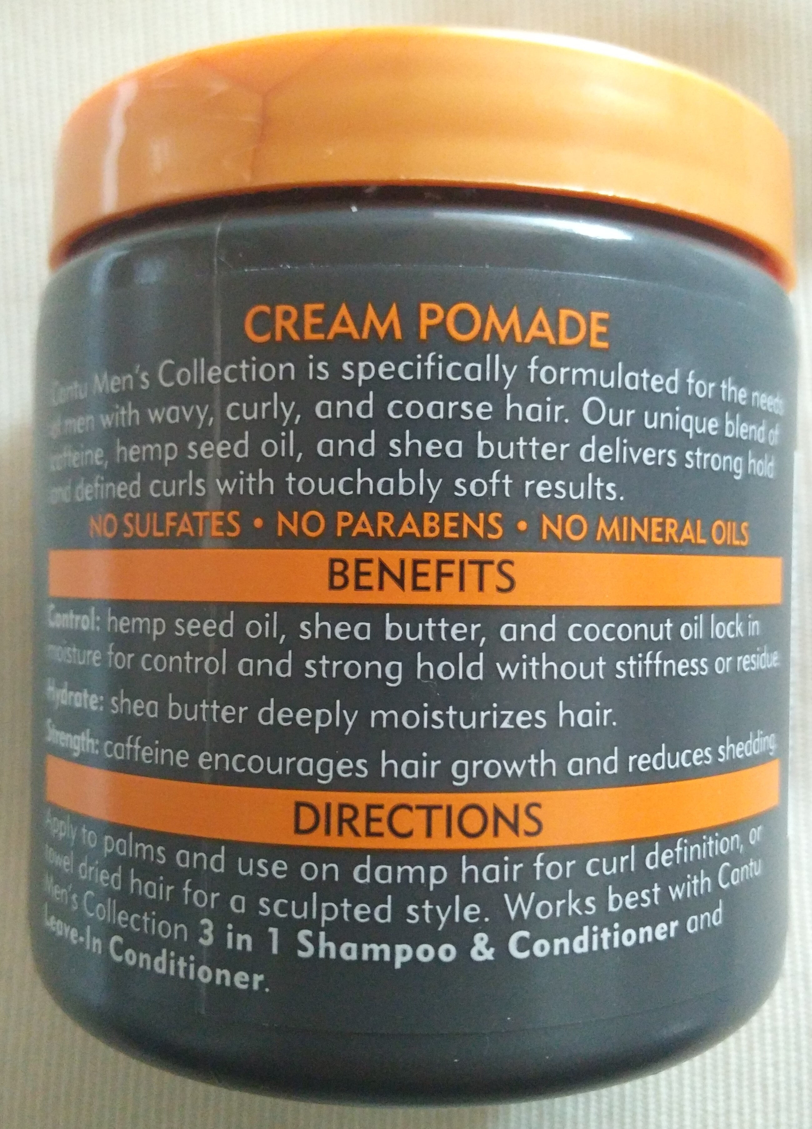 Shea Butter Cream Pomade - Product - en