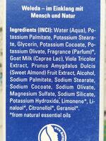 Rasiercreme - Ingredients - de