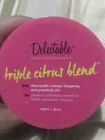 Body Butter Cream Triple Citrus Blend - Product