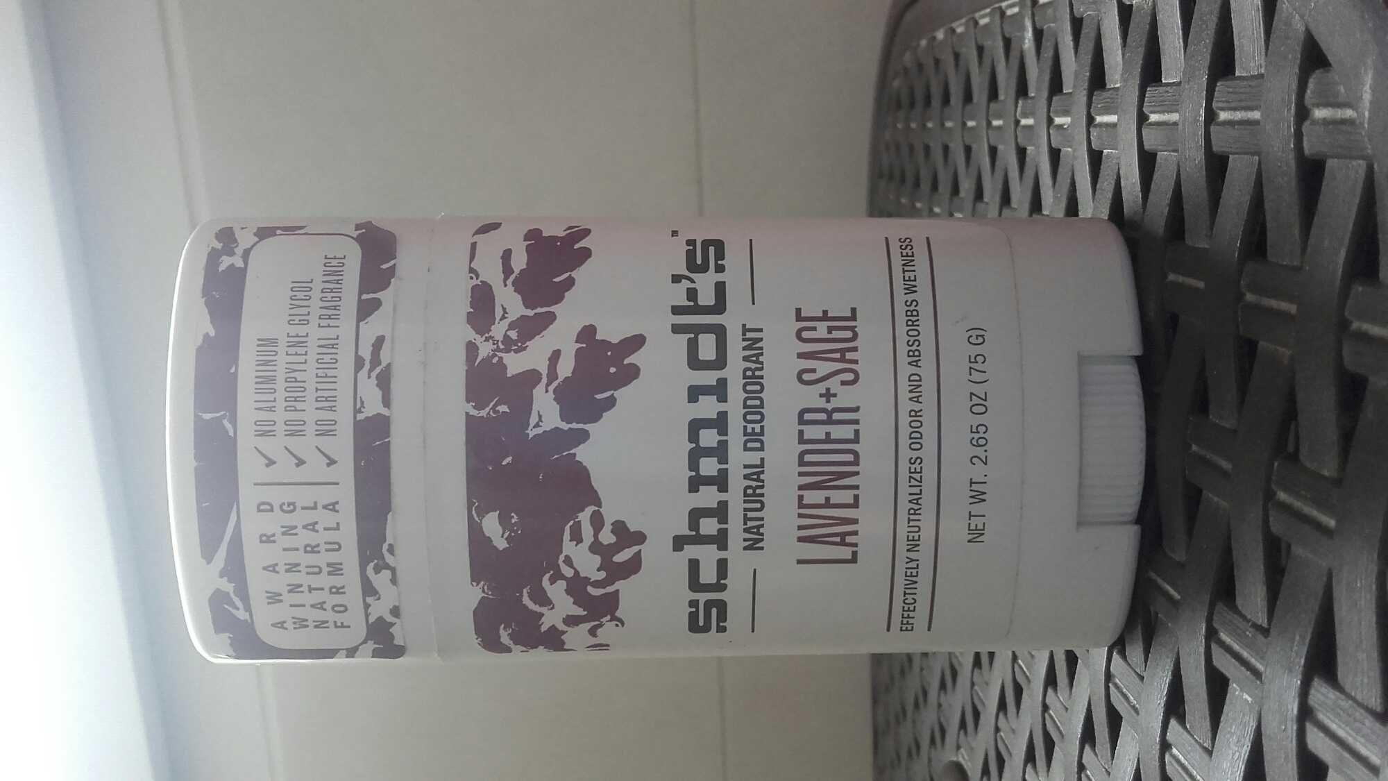 Natural deodorant Lavender+sage - Product - fr