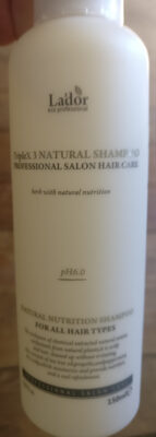 TripleX Natural Shampoo - Product