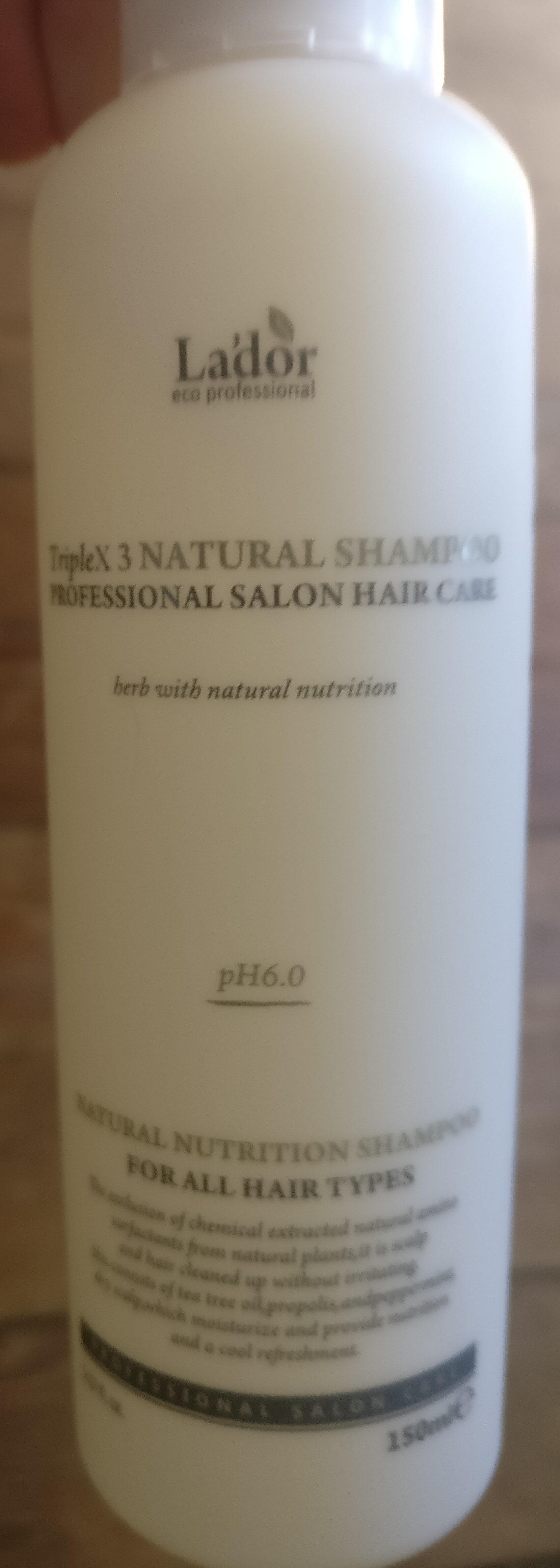 TripleX Natural Shampoo - Product - en