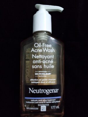 Oil-Free Acne Wash - Product - xx