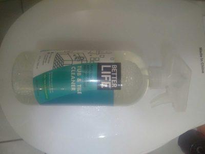 Tub & tile cleaner - Product - fr
