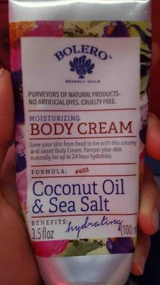 bolero Beverly hills moisturizing body cream - Product