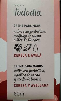crema de manos natura - Product - en